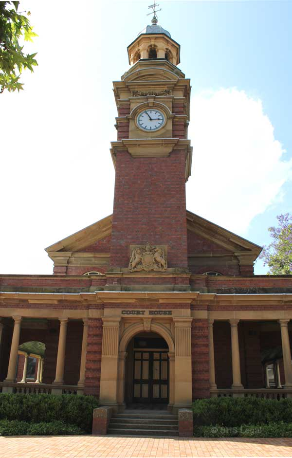 Maitland 1897, NSW