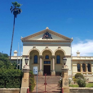 Dubbo Courthouse 1890, NSW