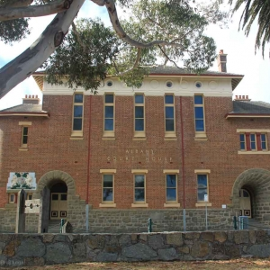 Albany Courthouse 1895-96