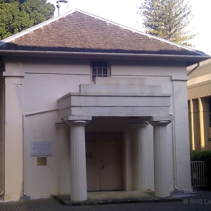First Courthouse, Perth 1836, WA