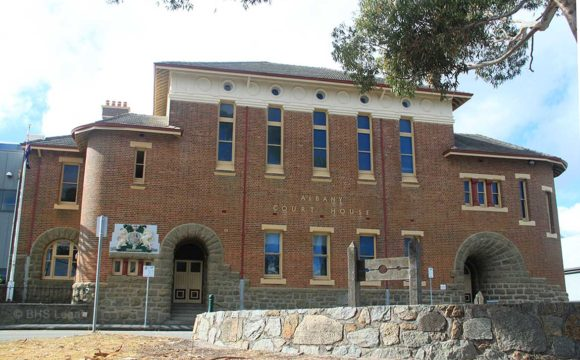 Albany Courthouse, Western Australia, early Australian Courthouses, old Australian courthouses, Australian legal history