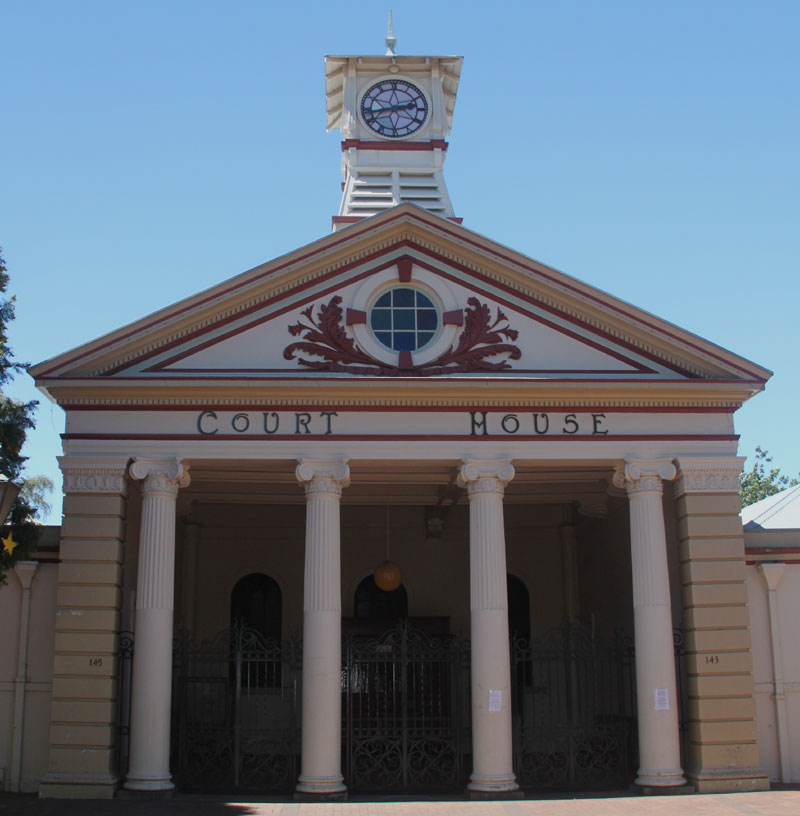 Armidale Courthouse, old Australian Courthouses, colonial Australian Courthouses, courthouses