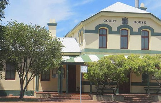 Ballina Courthouse, early Australian courthouses, old Australian courthouses