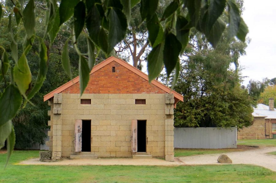 Beechworth Courthouse, early Australian Courthouses, Courthouse heritage,