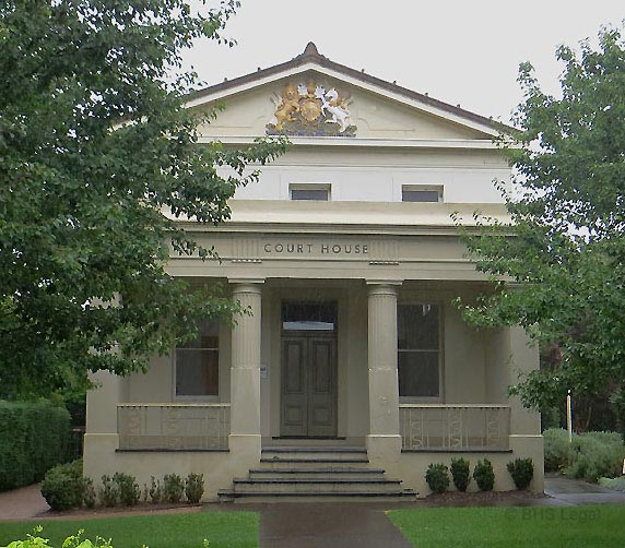 Berry Courthouse, early Australian Courthouses