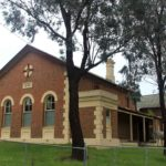 Binalong Courthouse, Binalong, Australian legal history, early australian courthouses, old Australian courthouses, colonial Australian courthouses