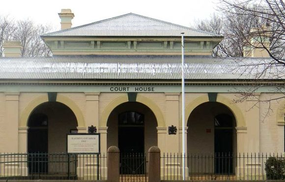 Blayney Courthouse, Australian Courthouses, old Australian courthouses, colonial courthouses, courthouse, early Australian courthouses,