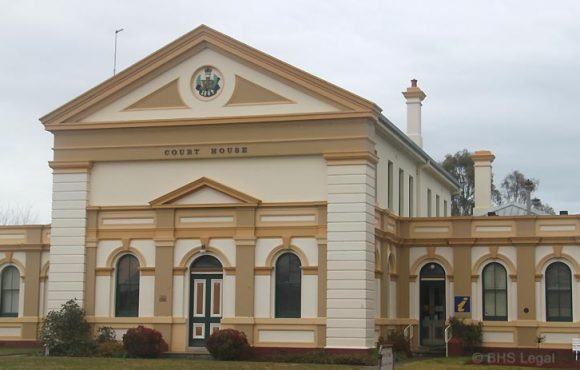 Boorowa Courthouse (former), NSW, early Australian courthouses, old Australian courthouses, James Barnet