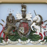 Broken Hill Courthouse - Coat of Arms, early Australian courthouses, Australian legal history, Australian Colonial courthouses,