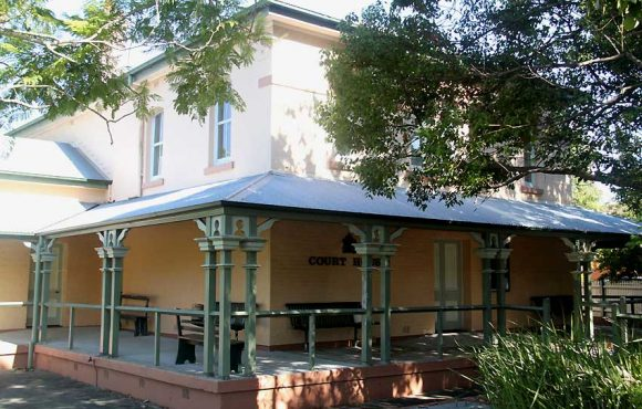 Casino Courthouse, old Australian courthouses, early Australian courthouses, Australian legal history, historical Australian courthouses,