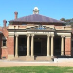 Cootamundra Courthouse, early Australian courthouses, old Australian courthouses