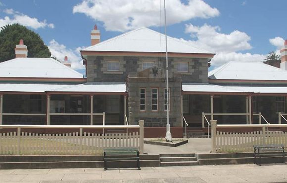Glen Innes, old Australian courthouses, early Australian courthouses