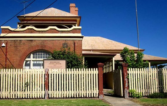Holbrook Courthouse, old Australian courthouses, early Australian courthouses, Australian legal history, Holbrook