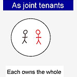 joint tenants, tenants in common, wills, estates, inheritance, property