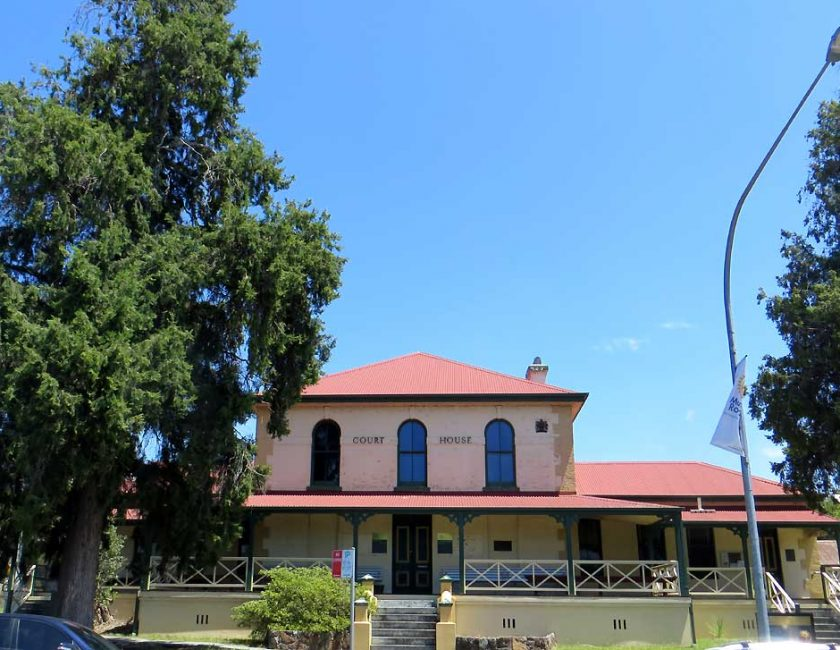 Moruya Courthouse, New South Wales