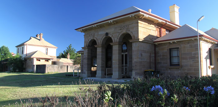 Murrurundi Courthouse, Australian courthouses, old courthouses