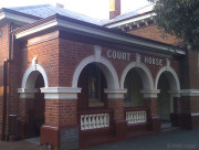 Northam Courthouse, early Australian courthouses