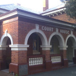 Northam Courthouse, early Australian courthouses, Australian courthouses, old Australian courthouses