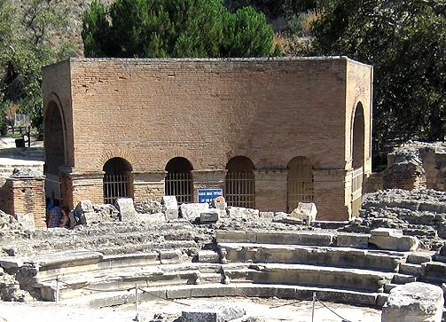 ancient inheritance law, ancient law code of Gortyn, law in stone, inscription, civil law, private law, succession, LawOdeon-&-Amphitheatre