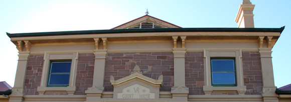 Port Augusta Courthouse, early Australian courthouses, colonial Australian courthouses, Australian legal history, administration of Justice, old Autralian courthouses