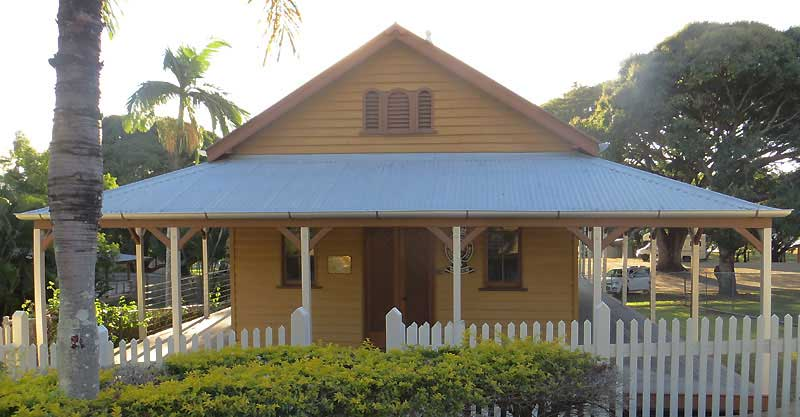 Port Douglas Courthouse, early Australian Courthouses, old Australian Courthouses, colonial Australian courthouses