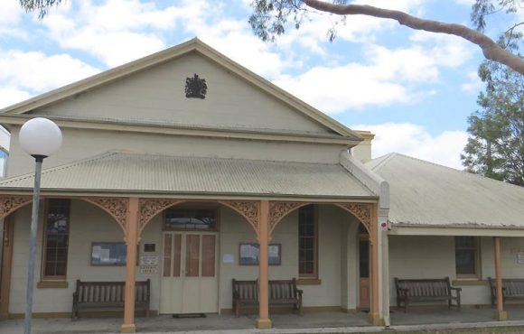 Raymond Terrace Courthouse, old Australian courthouses, early Australian courthouses, historical Australian courthouses, Australian legal history