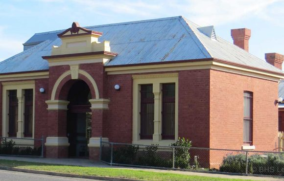 Rutherglen Courthouse (former), Rutherglen Courthouse, early Australian Courthouses, old Australian courthouses, Australian legal history