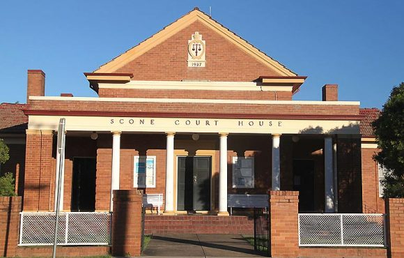 Scone Courthouse, early Australian courthouses, old Australian courthouses