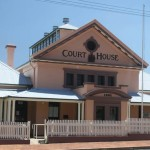 Tenterfield Courthouse, Tenterfield, old Australian courthouses, early Australian courthouses