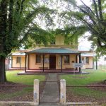 Tumbarumba Courthouse, early Australian Courthouses, Australian Courthouses, Australian legal history,