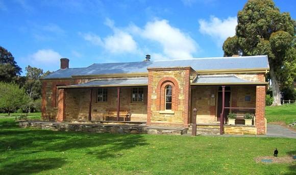 Willunga Courthouse, early Australian courthouses, old Australian courthouses