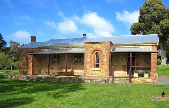 Willunga Courthouse, early Australian courthouses, old Australian courthouses