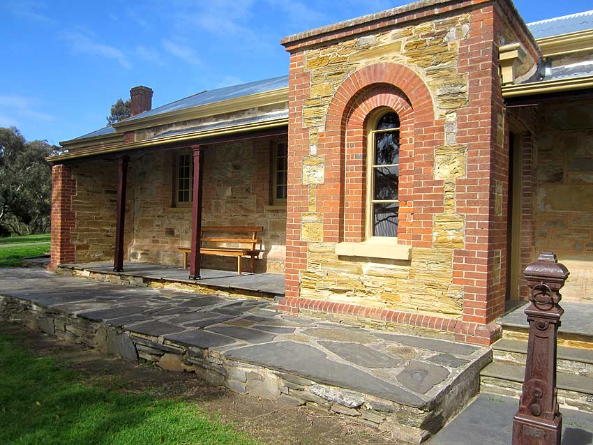 Willunga Courthouse, old Australian courthouses, early Australian courthouses